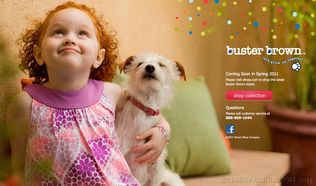 This shoot for Buster Brown ad and collateral, featured untrained children with their own untrained dogs...