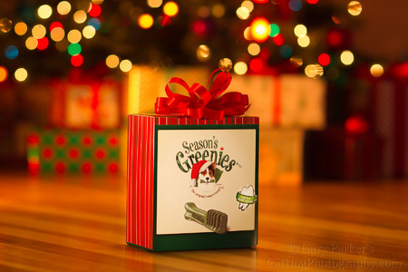 GREENIES ADVERTISING IMAGE CREATED FOR THE 2013 HOLIDAY SEASON...